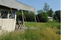Romantische Safari Lodgetent